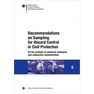 Recommendations on Sampling for Hazard Control in Civil Protection